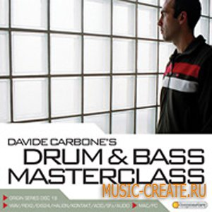 Davide Carbones Drum and Bass Masterclass от Loopmasters - сэмплы drum and bass (MULTiFORMAT)