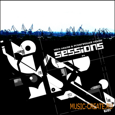 Music Tech House & Progressive House Sessions от WM - сэмплы Tech House и Progressive House