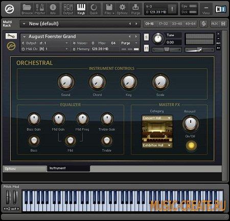 Orchestral Keyboard Instruments от Native Instruments (NI) - библиотека оркестровых клавишных (KONTAKT)