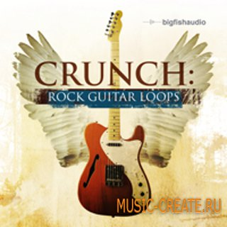 Crunch Rock Guitar Loops от Big Fish Audio - сэмплы рок гитары (MULTiFORMAT)