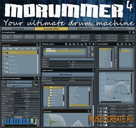 MeldaProduction - MDrummer Large 4 v4.02 x86/x64 Update  (TEAM ASSiGN) - плагин драм комплект / сэмплер