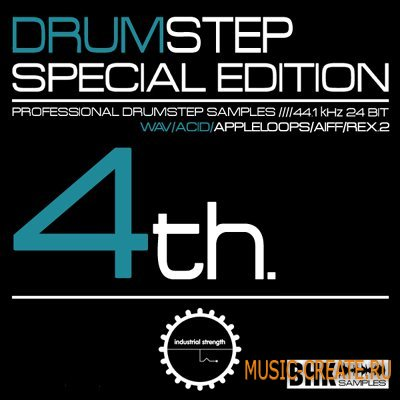BHKs Special Edition 4 Drum Step от Industrial Strength Records - сэмплы Dubstep (MULTiFORMAT)