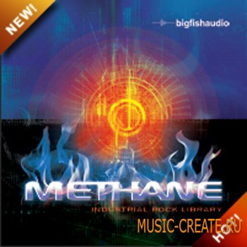 Methane: Industrial Rock Library от Big Fish Audio - сэмплы Industrial Rock (MULTiFORMAT)