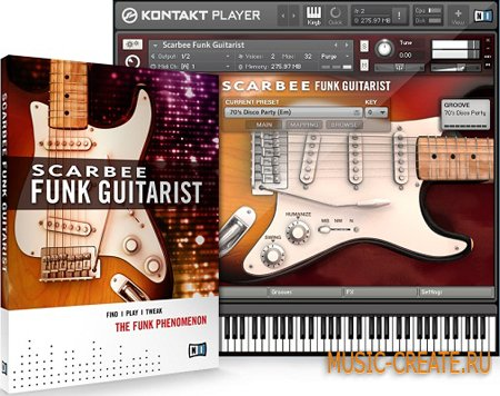 Native Instruments - Scarbee Funk Guitarist (KONTAKT) - виртуальная фанк гитара