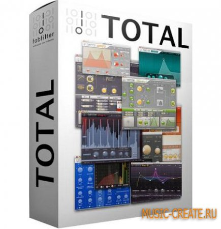 FabFilter Total Bundle v2017.03.23 WiN OSX (Team R2R) - сборка плагинов