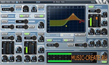 Wave Arts Dialog v1.36 / v1.38 WiN/MAC - плагин для корректировки голоса