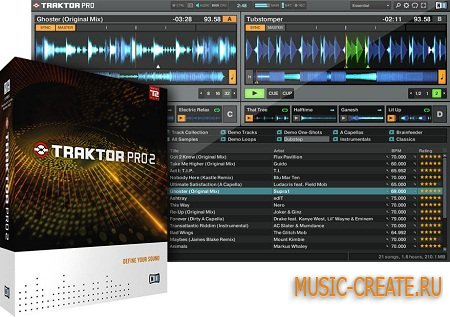 Native Instruments - Traktor Pro 2.6.7 R337 (TEAM CHAOS) - инструмент dj