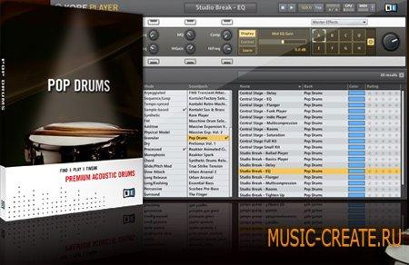 Native Instruments Pop Drums (KONTAKT) - виртуальная ударная установка