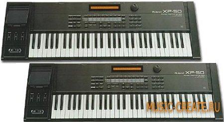 Roland XP-50 от Vintage Synth Sounds - виртуальный синтезатор Roland XP-50 (KONTAKT)