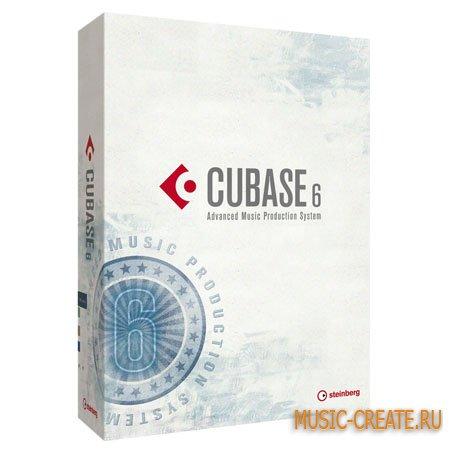 Cubase 6 Original DVD (MacOSX) от Steinberg - виртуальная музыкальная студия
