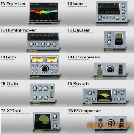 ToneBoosters Plugin Bundle v1.0.9 WiN / OSX (Team R2R) - сборка VST плагинов