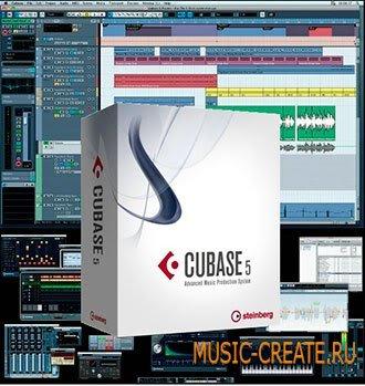 Steinberg - Cubase v5.1 + update 5.12 (AiR) + Руссификатор от - виртуальная музыкальная студия (AiRISO PC only)