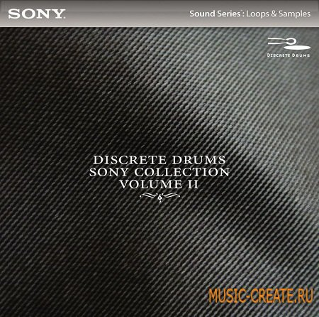 Sony Loops & Samples Libraries - Discrete Drums 2 - сэмплы ударных (WAV)
