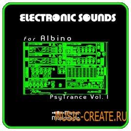 Meyer Musicmedia ES Albino PsyTrance V.1 [Rob Papen Albino Presets] - пресеты для Albino