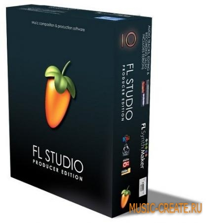 Image-Line - FL Studio Producer Edition v10.10.0 PB2 (Team CHAOS) - виртуальная студия