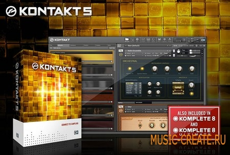 Native Instruments Kontakt 5.7.0 WIN Portable (Team P2P) - сэмплер