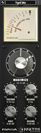 Kuassa - Kratos 2 Maximizer v2.0.3 WiN OSX (Team R2R) - плагин мастеринговый лимитер