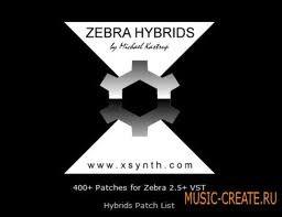 XSynth Hybrids [Zebra 2 Patches] - пресеты для Zebra (Presets)