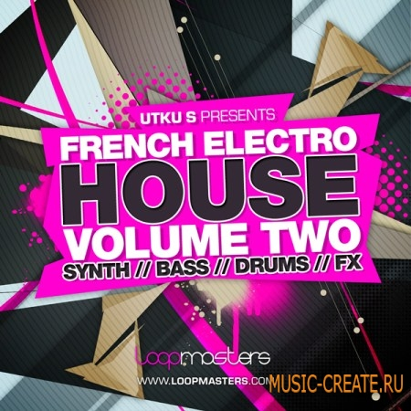 Loopmasters French Electro House Vol 2 (Multiformat) - сэмплы Electro House