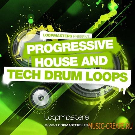 Loopmasters Progressive House and Tech Drum Loops (WAV, REX 2) - сэмплы Drums, House, Percussion, Techno, Tech House, Progressive House, Tribal House