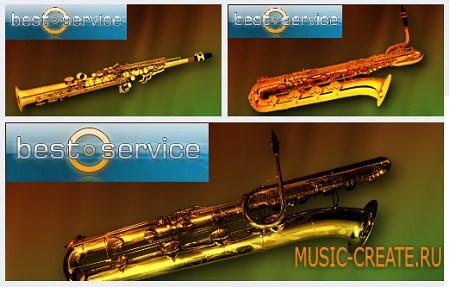 Best Service - Chris Hein Horns Solo Sax 4 (KONTAKT) - звуки саксофона