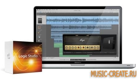 Apple Logic Studio 9 + 9.1.1 Update  MAC OSX - секвенсор