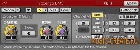Voxengo - BMS v2.2 WiN/MAC (Team R2R) - плагин бас менеджер