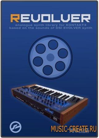 REVOLVER от PinkNoise Studio - звуки синтезатора DSI Evolver (KONTAKT DVDR-DYNAMiCS)