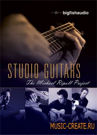 Studio Guitars: The Michael Ripoll Project от Big Fish Audio - сэмплы гитары для rock, pop, blues, funk, country, jazz (MULTIFORMAT)