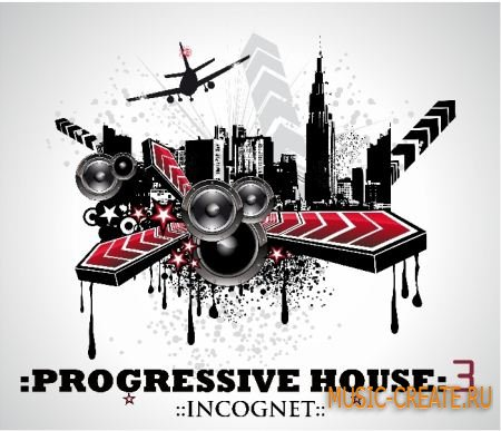 Progressive House Incognet 3 от WM Entertainment - сэмплы Progressive House (WAV)