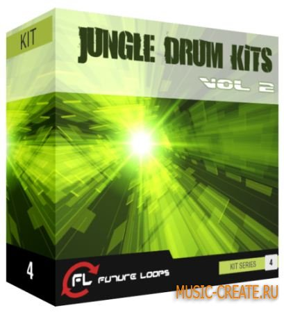 Jungle Drum Kits Vol 2 от Future Loops - сэмплы ударных (MULTiFORMAT)