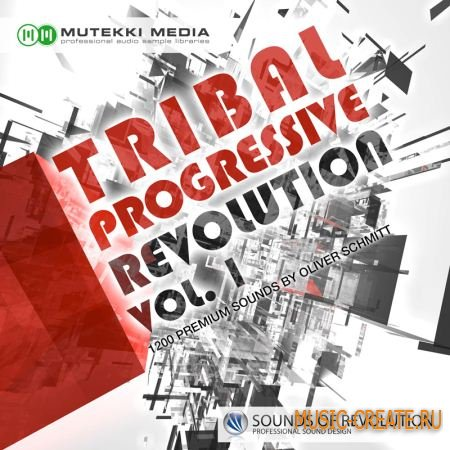 Tribal Progressive Revolution Vol. 1 от Mutekki Media - сэмплы progressive, deep, tech house (MULTiFORMAT)