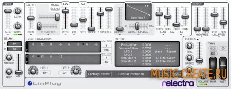 LinPlug relectro VST 1.0.0 (x86/x64  TEAM ASSiGN) - Multi FX эффект