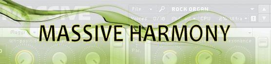 Emerge Audio Harmony (NI Massive Soundset) - пресеты для Massive