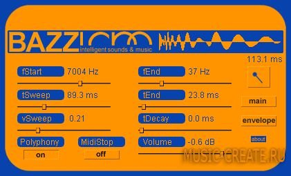 Intelligent Sounds & Music (ISM) - BazzISM VSTi 2.4.6 WIN / MACOSX (TEAM ASSiGN) - драм синтезатор