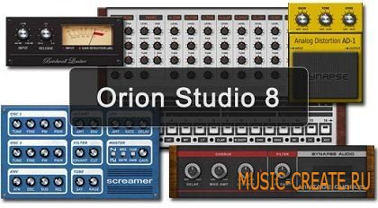 Orion 8 v8.0.2 от Synapse Audio - виртуальная студия (x86/x64 WORKiNG ASSiGN)