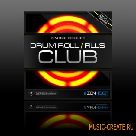 Drum Rolls And Fills Club от Zenhiser - сэмплы ударных (WAV)