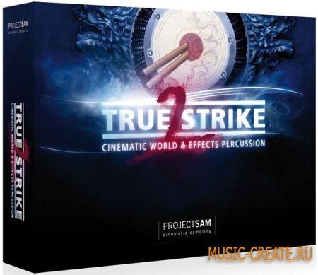 True Strike 2 - Cinematic World Effects Percussion от ProjectSAM - мировые перкуссионные инструменты (KONTAKT)