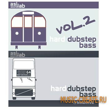 ASL SoundLab - Hard Dubstep Bass Vol 1 & 2 - пресеты для NI Massive