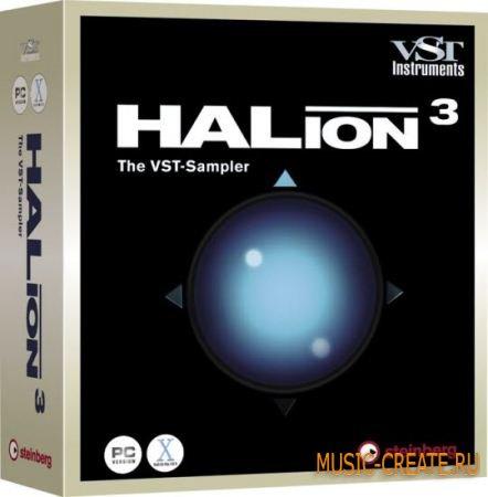 Steinberg - HALion VSTi DXi v3.5  (pc x86 / AiR) - сэмплер