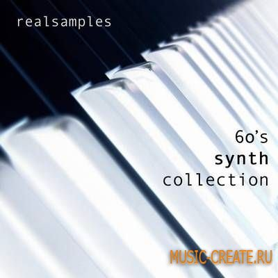 Realsamples 60's Synth Collection (Multiformat) - сэмплы органа 60-х