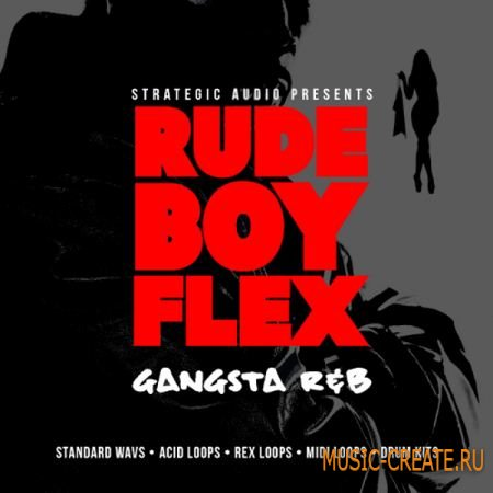 Strategic Audio RudeBoy Flex: Gangsta R&B (wav midi rex2) - сэмплы R&B, Hip Hop
