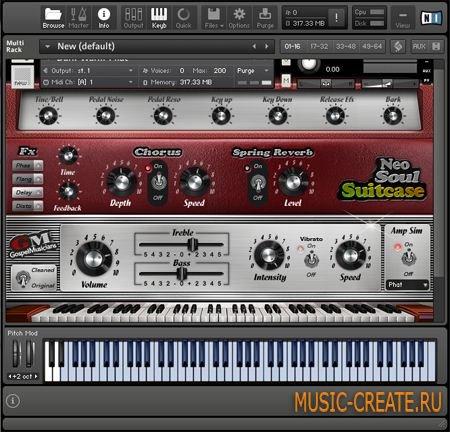 Neo-Soul Suitcase Library for KONTAKT - библиотека звуков электрического фортепьяно