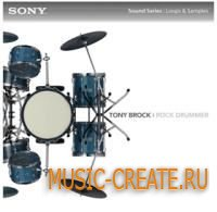 Tony Brock: Rock Drummer от Sony Creative Software - звуки ударных (WAV ACiD)