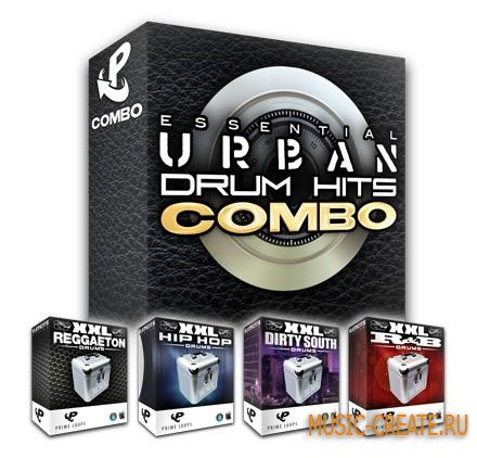 Prime Loops Essential Urban Drum Hits Combo Deal