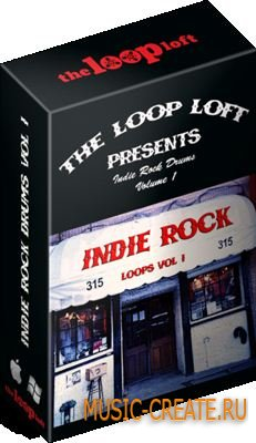 The Loop Loft Indie Rock Drums Vol 1 (wav) - сэмплы Rock