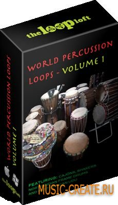 The Loop Loft - World Percussion Loops Vol 1 (WAV) - сэмплы перкуссионных