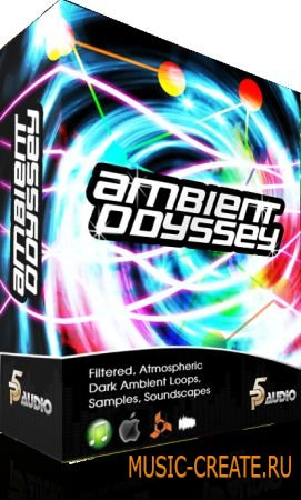 P5 Audio Ambient Odyssey Sample Pack (WAV) - сэмплы Ambient