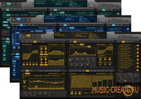 KV331 Audio SynthMaster VST VSTi v2.5.3.112 x86/x64 (ASSiGN) - синтезатор (полу-модульный)