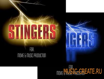 Precision Sound  Stingers I & II for Movie & Music Productions (WAV) - FX сэмплы
